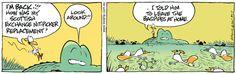 Bagpipe cartoon www.swamp.com.au