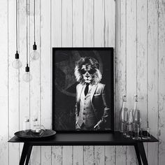 Unique interior posters & art prints for your home! Explore our cool wall art, and decorate your home with some new prints. Cool Wall Art, Lion Print, Online Posters, New Print, Decorating Your Home, Norway, Wall Art Prints, Black White, Creatures