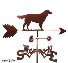 Hand Made Golden Retriever Dog  Weathervane NEW by swenproducts