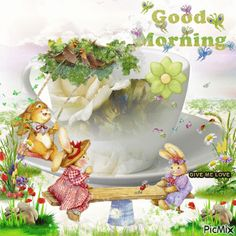View album on Yandex. Good Morning Gift, Cute Good Morning Images, Good Afternoon Quotes, Good Morning My Friend, Good Morning World, Good Morning Flowers, Morning Pictures, Poetry For Kids, Happy Easter Wishes