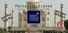 Promo Alquiler Pantallas Plasma Feria Madrid IFEMA - World Travel & Tourism Council (WTTC) The Global Summit 2015