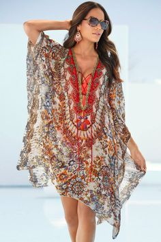 Shop today to find the best women's summer swimsuits, including fringe bathing suits. Discover the hottest bathing suits and resort wear today at Boston Proper. Beachwear Fashion, Beachwear For Women, Boho Fashion, Womens Fashion, Fashion Trends, Boho Outfits, Indian Outfits, Summer Outfits, Fashion Outfits