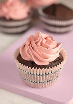 Donna Hay's Double Chocolate Cupcakes