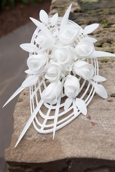 3ders.org - Professor creates the first 3D printed bridal bouquet for her wedding | 3D Printer News & 3D Printing News