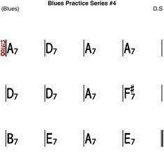 [Blues Practice Series 23] Blues #4 (Slow 12/8 Blues Tempo 60) - Sheet Music & Blues Backing Track Rhythm And Blues, Blues Music, Jazz Standard, Kind Of Blue, Backing Tracks, Guitars, Bass, Sheet Music, Guitar
