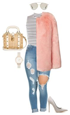 """""""#629"""" by diva-996 on Polyvore featuring WearAll, Dolce&Gabbana, Christian Dior, Olivia Burton, women's clothing, women, female, woman, misses and juniors"""