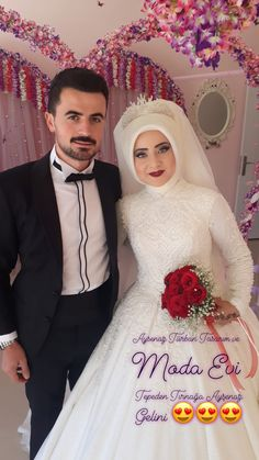 Hijab Dp, Hijab Wedding Dresses, Muslim Fashion, Moslem Fashion