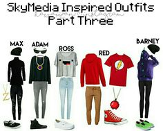 this one is based off of #skymedia skins. really cool pieces!! #youtuberinspired Drawings Of Friends, Minecraft Fan Art, Aphmau, Cosplay Outfits, The Good Old Days, Youtubers, Art Drawings, Childhood, Cute Outfits