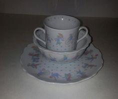 Vintage Antique Porcelain Tosamy Toyland Child Dish by RosiesHut, $25.00