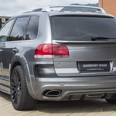 VW Touareg MK1 SR66 body kit