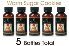 Elegant Expressions Warm Sugar Cookies Warming Oils - Box of 5pc / 55 ml ea by Warming Oils. $11.50. 5 bottles per box. Highly Fragrant. 55 ml per bottle. Use with oil warmers or to refresh potpourri. Highly fragranced Warm Sugar Cookies 55 ml Warming Oils. Use these highly fragrant oils with your warmer to fill your room with a pleasant aroma. Can also be used to refresh your potpourri. Box of 5pc.