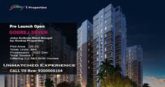 Under Construction project Godrej Seven at Joka Kolkata by Godrej Properties Limited. Residential property Starting from Only.