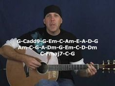 ▶ Play any song on guitar Beginner lesson with exercises strum patterns chords acoustic or electric - YouTube