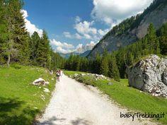 Una facile escursione dai panorami mozzafiato: da Alba di Canazei, in Val di Fassa, raggiungiamo il Rifugio Contrin, ai piedi della Marmolada