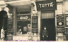 dondum kaldım bir fotoğrafta... (1920'ler Türkiye'nin ilk seyahat acentalarından TUTTA) #Beyoğlu