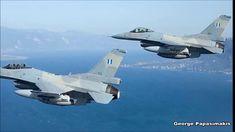 Ελληνικά F-16 καταδίωξαν τουρκικά που επιχείρησαν να παρακωλύσουν επιστρ... F 16, Fighter Jets, Aircraft, Aviation, Planes, Airplane, Airplanes, Plane