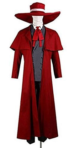 Focus-Outfits Hellsing Alucard Red Suit Cosplay Outfits