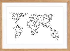 Amazing Shed Plans - Geometrische Erde en Affiche premium par Eulenschnitt Tape Art, Geometric Drawing, Geometric Art, Art Mural, Grafik Design, String Art, Artsy, Sketches, Framed Prints