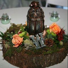 diy autumn wedding centerpieces | LOVE DIY wedding centerpiece. Use fall leaves ... | ideas for trav an ...