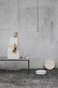 The Design Chaser: Interior Styling   Concrete & Wood