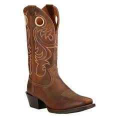 Buy the Ariat Sport Square Toe Western Boots for Men and more quality Fishing, Hunting and Outdoor gear at Bass Pro Shops. Western Riding Boots, Western Boots For Men, Cowgirl Boots, Western Cowboy, Cowboy Hats, Cowboy Boots Square Toe, Horse Boots, Men's Boots, Rain Boots