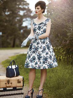 Vintage style clothes australia  Missing You Dress | Chessie 3/4 Sleeve Cardi | Review Australia ...