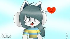 Cute Temmie (Undertale)! So I love Bob too, but i haven't got his picture... Sorry...