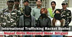 2 Girls Rescued and 1 Trafficker Arrested - Was taking Girls to Kenya via Delhi for Prostitution   31No SSB yesterday rescued 2 females and arrested a male named Bhupendra Kumar beside a hotel from India-Nepal border town Panitanki near Siliguri. Bhupen from Kathmandu Nepal was taking the girls to Delhi and was supposed to hand them over to some Aryan and Ankit Patel who is one of Bollywood actresses husband's brother. Further the girls would have been taken to Kenya Nairobi for Prostitution…