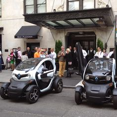 Twizy by Renault. I want one!