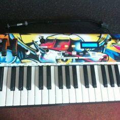 Martyn Cartwright: We do keyboards too! #StyleFlip #Skin #keyboard #custom #design #music www.styleflip.com
