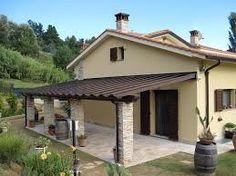 Gazebo in ferro battuto per terrazzo portico anteriore for Disegni cottage portico anteriore