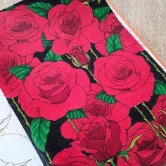 ❤ Flower Power ❤ #arttherapie #coloriage #hachette #coloriagepouradultes #coloriageantistress #zen #arttherapy #coloringbook #flowerpower #flowers #fleurs #roses #red #adultcoloring #loisirscreatifs  Retrouvez-moi sur : ❤ Facebook : http://www.facebook.com/sundaymorningcreationscolorie ❤ Youtube : http://www.youtube.com/c/sundaymorningcreations