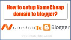 Setup custom domain from namecheap to blogger. Register a new domain and know how you can add a custom domain in blogger from Namecheap.