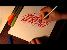 PILOT parallel pen test by THEOSONE Some really fun calligraphy drawn in this test/demo Calligraphy Pen Set, Calligraphy Tutorial, Lettering Tutorial, Pilot Parallel Pen, The Secret Of Kells, Design Editorial, Penmanship, Caligraphy, Alphabet And Numbers