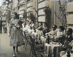 Rome, via Veneto, 1950s