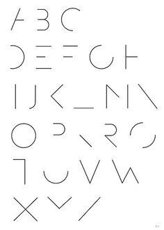 O experimentalismo tipográfico de Simon Langlois via