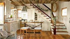 """11 Cozy Cottages That Look Like They re Straight Out Of """"The Holiday Cottage style interiors Cottage kitchens Cottage interiors"""