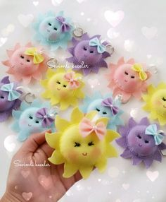 Tie Dye Crafts Crafts To Make Felt Hearts Make And Sell Felt Christmas Ornaments Felt Animals Ribbon Bows Hair Jewelry Baby Crafts Felt Crafts Patterns, Felt Crafts Diy, Felt Diy, Baby Crafts, Sewing Crafts, Sewing Projects, Crafts For Kids, Puppet Patterns, Easter Crafts