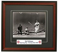 Legends Gallery Boston Red Soxs Ted Williams On Opening Day Framed 8x10 Photograph : Boston Red Sox