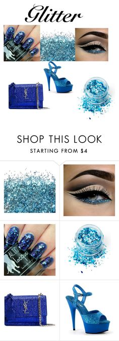 """""""Untitled #95"""" by natykaa ❤ liked on Polyvore featuring beauty, In Your Dreams and Yves Saint Laurent"""
