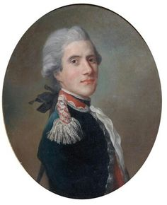 Rococo Fashion, Old Portraits, French Army, American Revolution, Male Face, Male Beauty, 18th Century, Royalty, Handsome