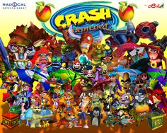 Day #5 Crash Bandicoot  A childhood game that I still love just as much to this day :)  100 Days of Happiness