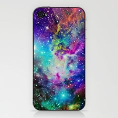 Fox Fur Nebula iPhone & iPod Skin