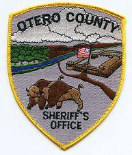 OTERO COUNTY COLORADO CO colorful SHERIFF POLICE PATCH
