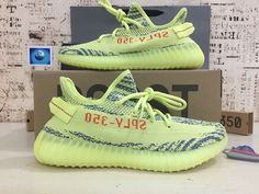 """3418bf8740af6 2017 adidas Yeezy Boost 350 V2 Semi """"Frozen Yellow"""" B37572 Athletic  Outfits"""