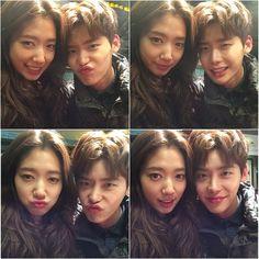 Park Shin Hye and Lee Jong Suk | ssinz7 Instagram Update