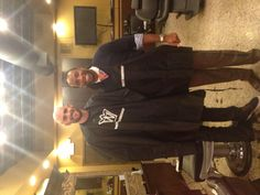 "Larry and his guy Kevin Love and after his ""haircut""!"