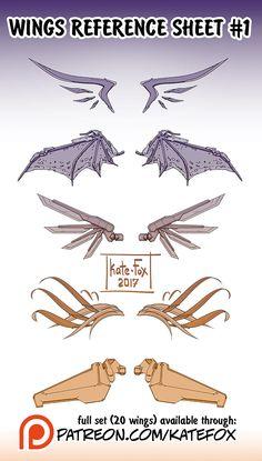 Wings Set 1 By Kate FoX