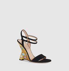 Engel Suede Wedge Sandal