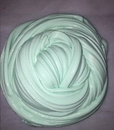 Minty Fluff scented slime by sassslimeco on Etsy
